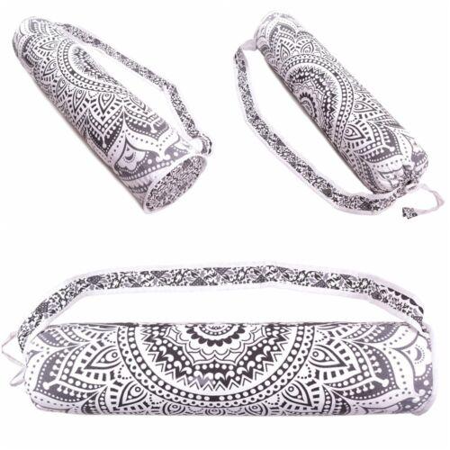 Bag Mat Yoga Shoulder Strap Carrier Mandala Large Indian And Cotton Adjustable
