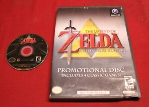 Legend-of-Zelda-Collector-039-s-Edition-Nintendo-GameCube-Ocarina-Time-Majora-039-s