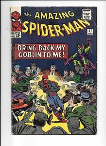 The-Amazing-Spider-Man-27-August-1965-5th-appearance-Green-Goblin