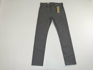Levi's Men's 510 Skinny Fit Jeans Size 32 x 32 NWT Gray Classic Rise Denim