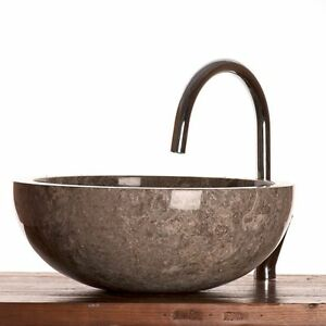 Grey Marble Stone Basin 40 cm  wa002  for bathrroms - Lewes, United Kingdom - All good purchased by the buyer can be returned to the Premises within 7 days of the delivery or purchase date which ever is latest and the buyer will be refunded in full on confirmation that the goods are in the same conditions as - Lewes, United Kingdom