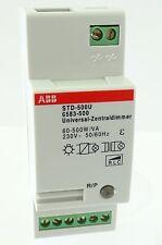 Abb std-500u universal central dimmer 6583-500 rendimiento dimmer 230v ~ 60-500w/va