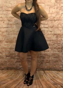 Abendkleid kurz Coctailkleid Kleine Schwarze Minikleid ...