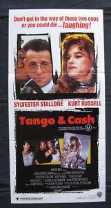 TANGO-amp-CASH-039-89-Australian-daybill-movie-poster-Sylvester-Stallone-Kurt-Russell