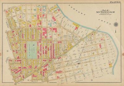 map of greenpoint brooklyn ny 1908 Greenpoint Brooklyn Ny Winthrop Park Ps 110 181 Calyer Amos map of greenpoint brooklyn ny