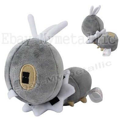 "Pokemon XY Scatterbug 16cm / 6.3"" Soft Plush Stuffed Doll Toy #664"