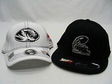 MISSOURI TIGERS - NCAA/FBS/SEC - LOT OF 2 INSIGHT BOWL BALL CAP HATS! 1 S/M FLEX