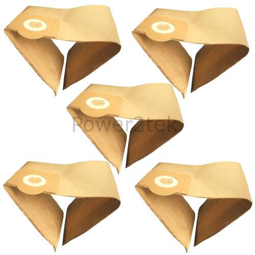 5 x zr81 Hoover Sacchetti Per Karcher 2001 6904263 2201f UK STOCK