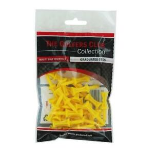 The-Golfers-Club-Golf-Graduated-Yellow-Plastic-Tees-1-75-Inch-x-30