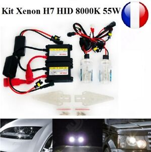 kit xenon h7 slim ballast 55w 8000k hid feux phare. Black Bedroom Furniture Sets. Home Design Ideas