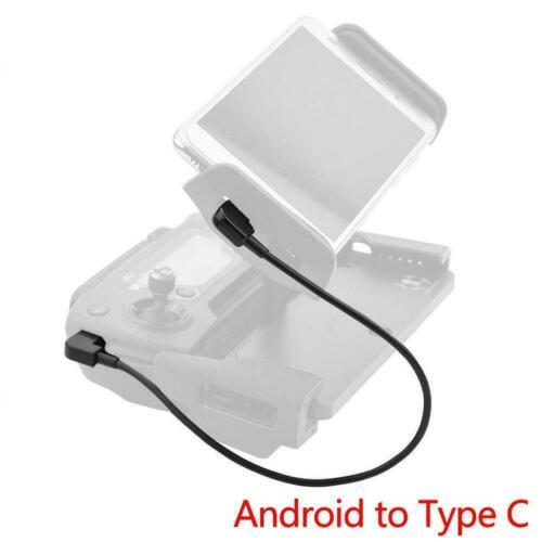 OTG Micro Type-C USB Cable iPhone IOS Andriod For DJI Spark//Mavic C2K8 ^ Pr H2S8