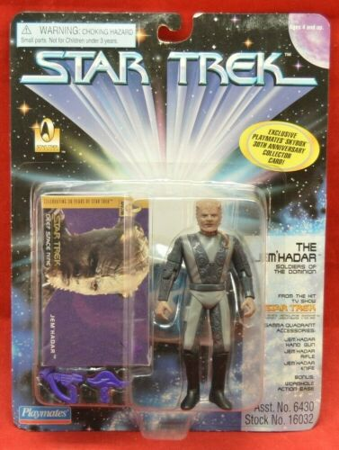 Comme neuf on Card Playmates 1995 Star Trek Deep Space Nine Les JEM /'HADAR Figure 1426