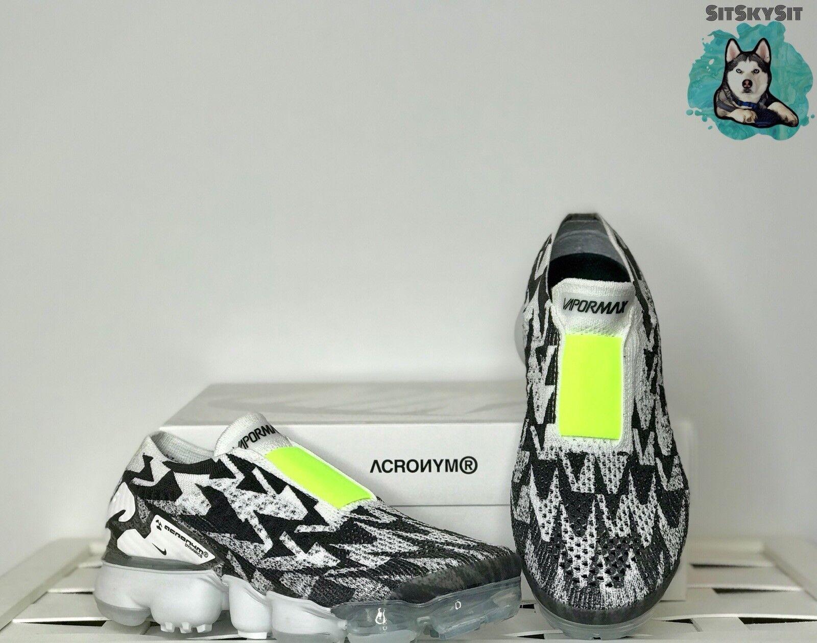 sneakers for cheap b4b53 cf5b7 Nike air vapormax labor akronym akronym akronym flyknit moc 2 weiße schwarze  neon aq0996-001 aa114c
