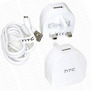 Original-HTC-Desire-650-Netzladekabel-Hohe-Leistung-1-0A-Adapter-Wand-TCB270