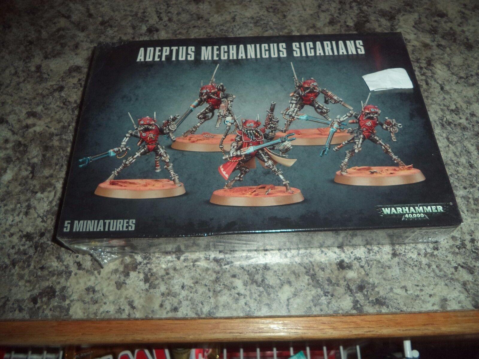 genuina alta calidad Adeptus Mechanicus siCocheians los los los infiltrados ruststalkers Warhammer 40k 40,000  nuevo   Garantía 100% de ajuste
