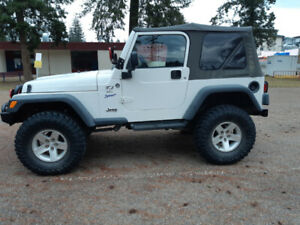 1997 Jeep TJ built for off road