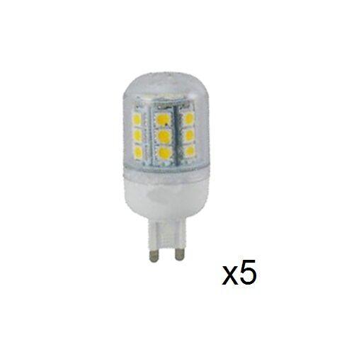 5x e 10x Multi PKS 3.5W LED Lampada G9 G9 G9 2700K 30,000Hrs bianco caldo di classe EVO0420 62a221
