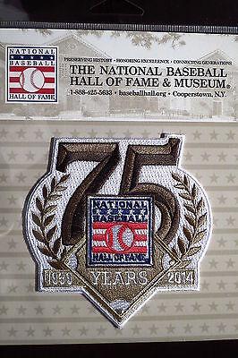 Offizielles Mlb Hall Of Fame 75th Jubiläum Abzeichen 2014 Unterscheidungskraft FüR Seine Traditionellen Eigenschaften Weitere Ballsportarten Baseball & Softball