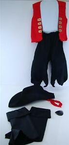 KID'S DRESS UP PIRATE SET HALLOWEEN COSTUME THEME PARTY AGES 3 & UP NIP