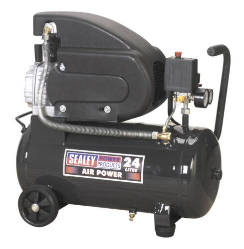 Sealey SAC2420E 24lt Compressor 2hp, 6.8cfm.