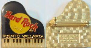 Hard-Rock-Cafe-PUERTO-VALLARTA-1990s-Black-PIANO-PIN-HRC-Catalog-7622-Large