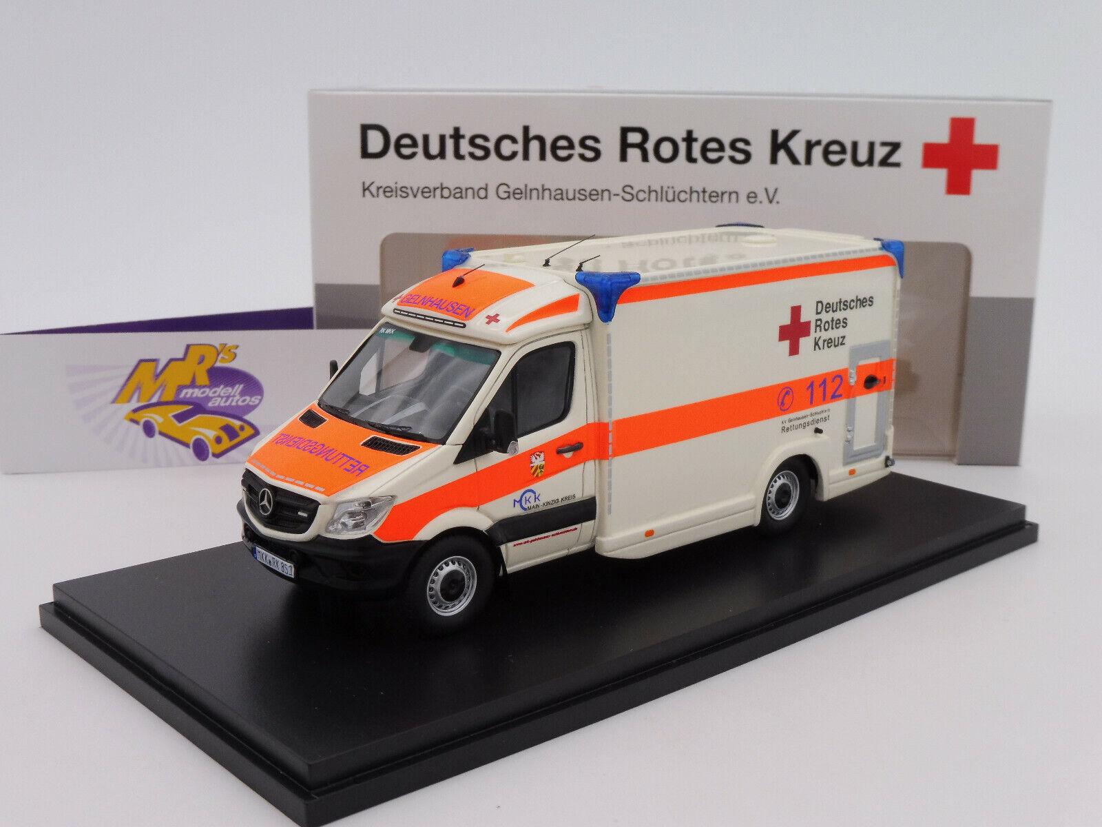 100% precio garantizado Matriz 41302-211     Mercedes Sprinter 319 CDI camión de rescate rdc Gelnhausen 1 43  en venta en línea