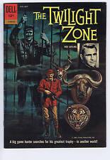 Twilight Zone #01-860-210 Dell 1962 Evans Cover/art