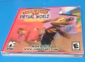 2165880f37de JumpStart 3D Virtual World  Trouble in Town (PC)(COMPLETE)(VG ...