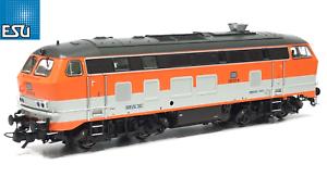 ESU-h0-AC-DC-31014-Locomotive-br-218-137-Citybahn-DB-034-Sound-VAPEUR-034-NEUF-neuf-dans-sa-boite