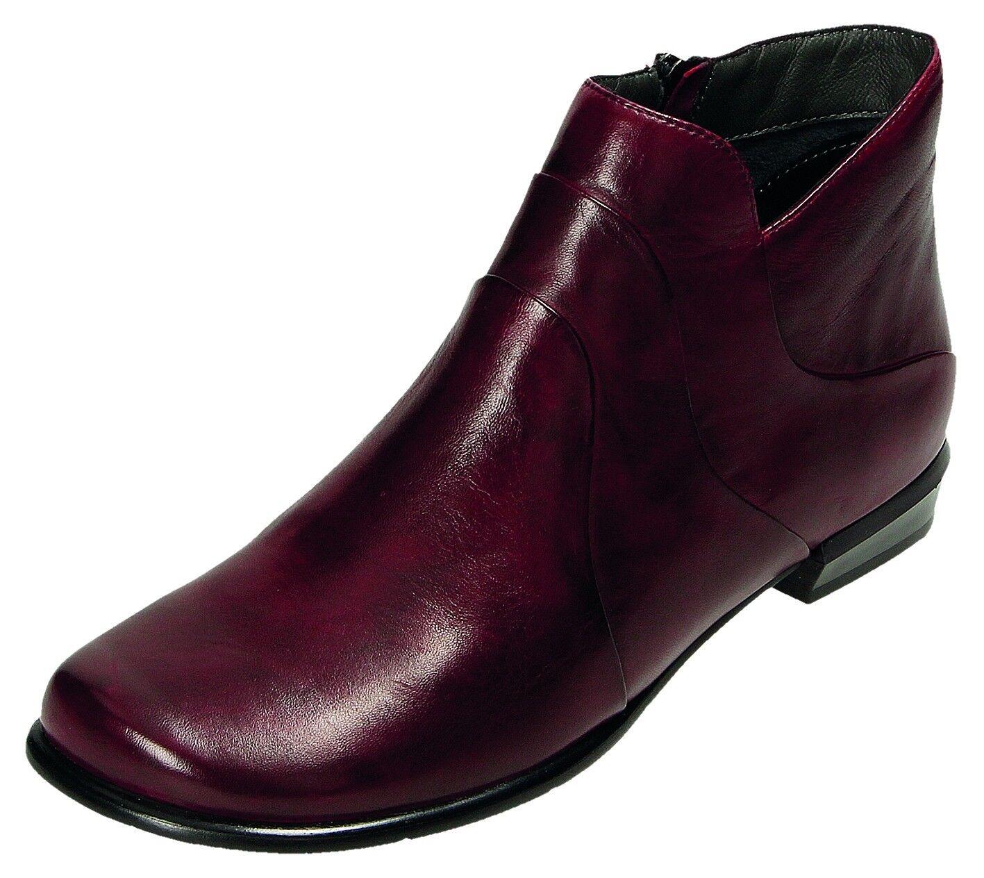 Canal Stiefel/Stiefelette Grande Damen Stiefel/Stiefelette Canal Damen RV-Stiefel Rot 81611F2298-03 491b4d