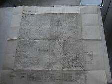 Cartina geografica mappa militare military map 1938 GLORENZA  60x 50 cm