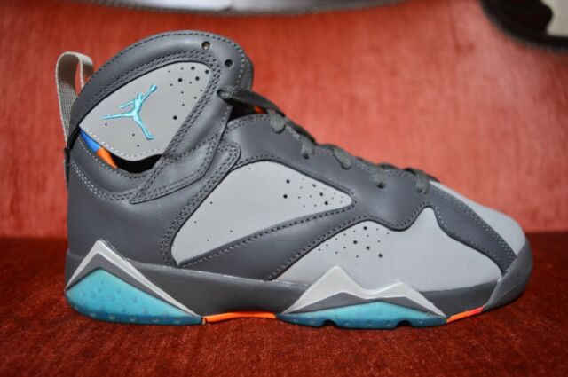 sports shoes 22764 5a142 ... wholesale nike air jordan retro vii 7 barcelona days dark grey turquoise  blue wolf size 6