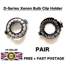 Par Nuevo Xenon D1S D1R D1C D3S HID Faro Bombilla Adaptadores de titular de anillos de clip