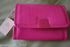Ted Baker HANIA T-details Mini iPad X-Body Bag (53-MID PINK) RRP £69, Brand New.