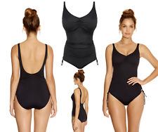 5bd96b53e0 Fantasie Versailles Swimsuit U/W V Neck Adjustable Leg Swimwear Black 5755  New