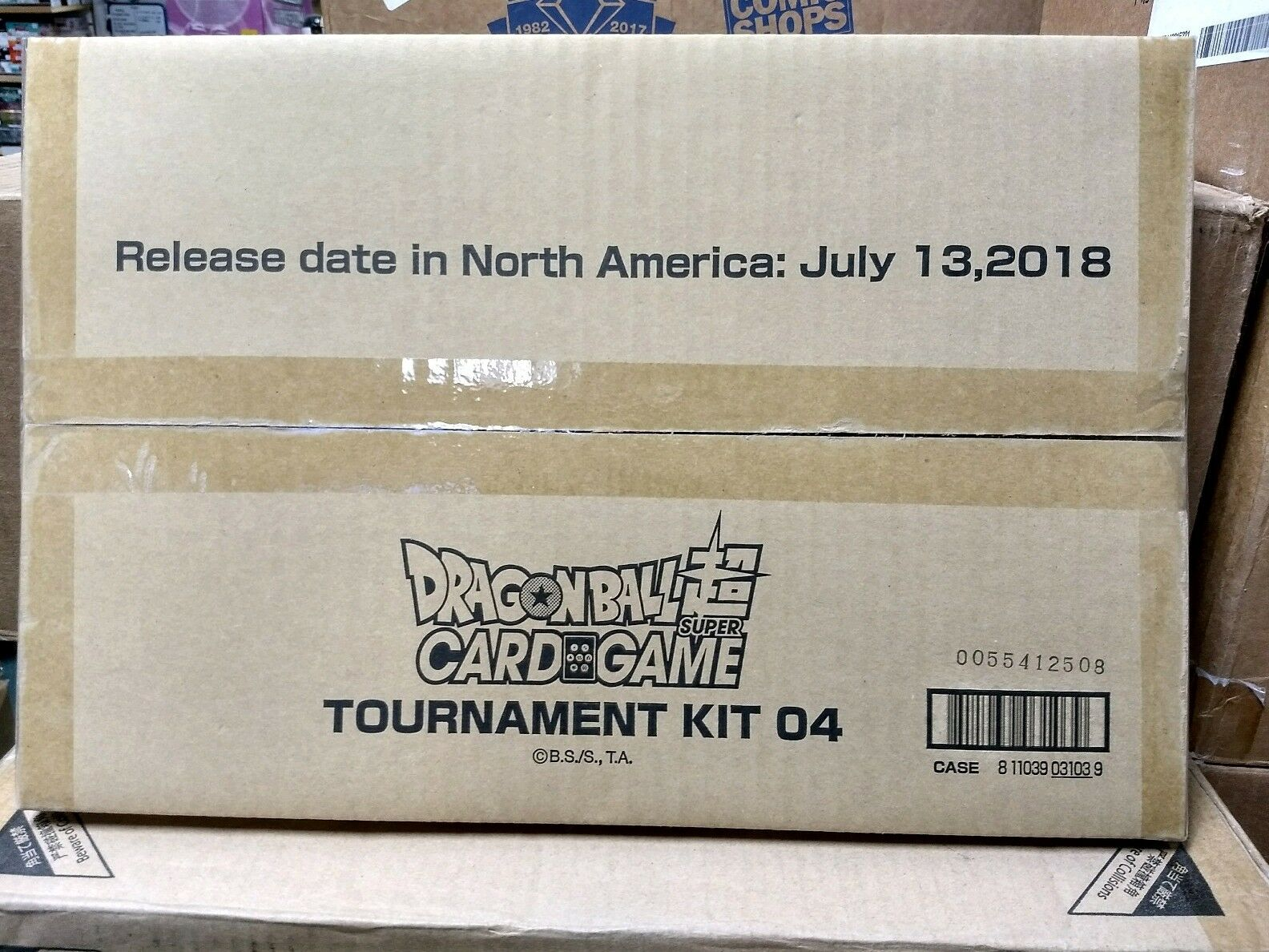 Sealed Dragon Ball Super Tournament Kit 4