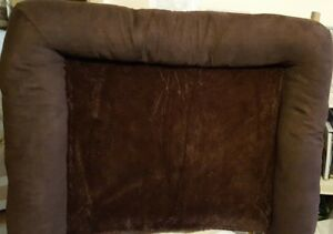 Fur-Haven-Plush-Suede-Sofa-Style-Orthopedic-Dog-Bed-Large-Brown