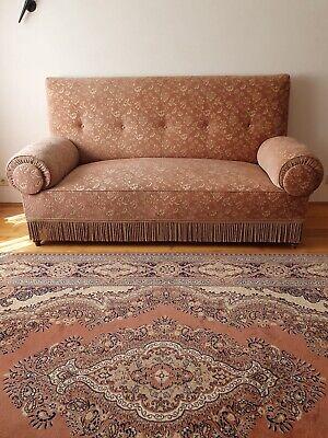 Antik Sofa Jugendstil Schlafsofa Fast Unbenutzt Polstermöbel Massivholz Original