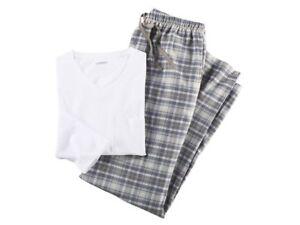 Men/'s Pyjamas Nightwear  Boottoms COTTON  FLANNEL Checkered S M L XL XXL XXXL