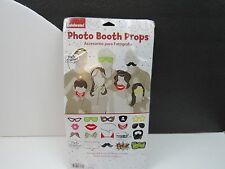 Wedding Photo Booth Props Kit Konsait Bridal Shower Photo Booth Prop with Woo...