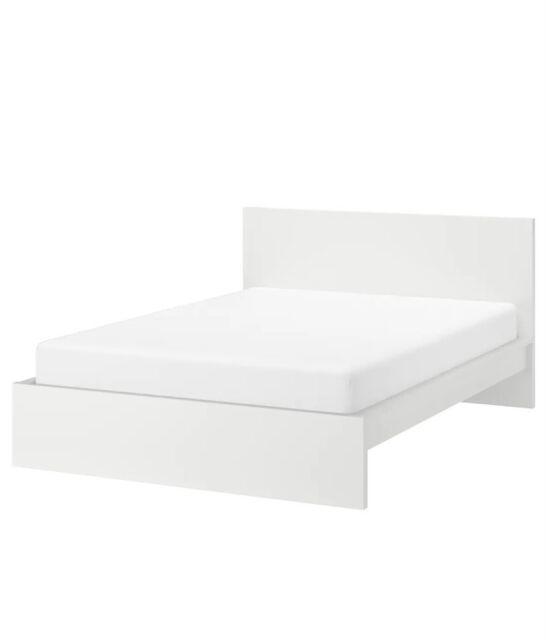 Queen Bed Frame Tarva From Ikea For Sale Online Ebay
