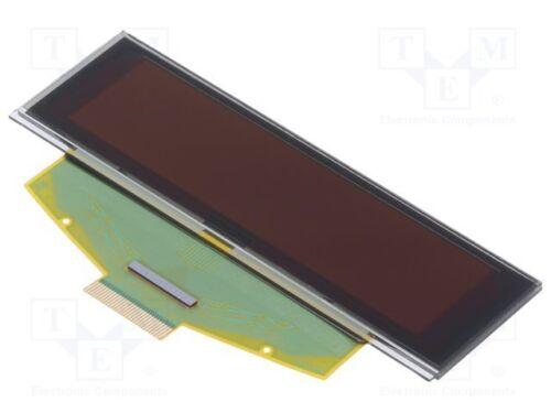 "1 pcs OLED; graphical; 2.8/""; 256x64; Dim Display 84x25.8x2.05mm; yellow"