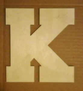 Details About 20 Wooden Block Font Style Letter Unfinished Wood Letters Custom 20 Inch