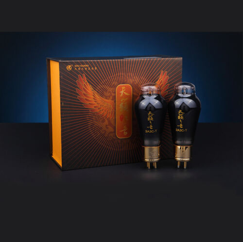 Matched Pair Shuguang 2A3C-T Premium Grade Nature Sound High-end in Gift Box