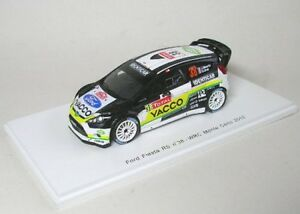 Course Ford Fiesta Rs Wrc N ° 38 Monte Carlo 2012