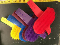Large Plastic Curry Combs Pack Of 12 Mixed