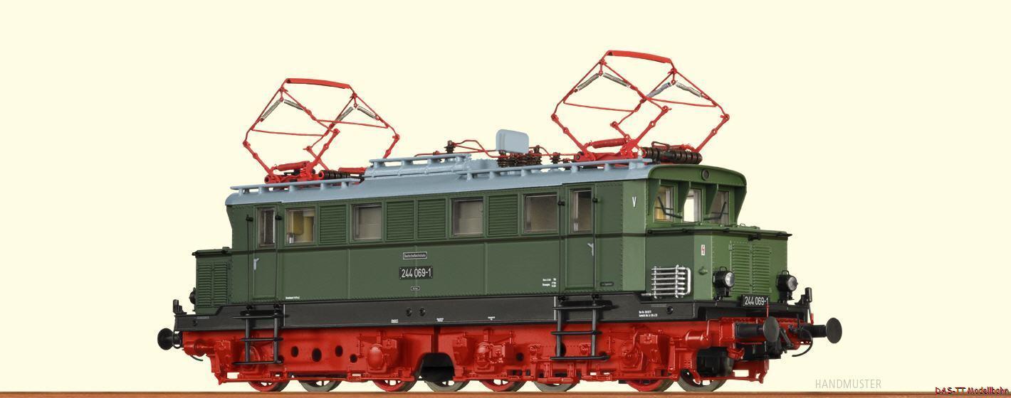 H0 E-Lok br244 DR Ep. IV DC Basic + BRAWA 43416
