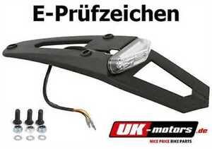 Polisport-LED-Ruecklicht-Kennzeichenhalter-Kawasaki-KLR-250-KLR-600-KLR-650