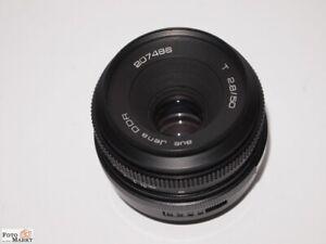 Tessar Jena (DDR) Objektiv 2,8/50 mm M42 / Nikon-F mount