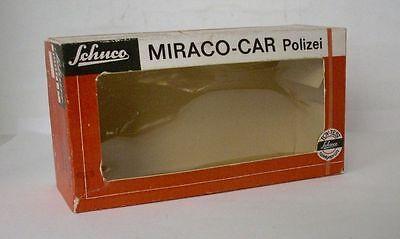 Humor Repro Box Schuco Mirako Car Polizei 1001/1 P Spielzeug